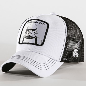 Casquette Trucker Storm Trooper Blanc Noir