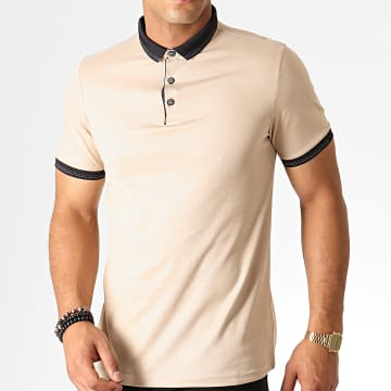 Polo Manches Courtes 546 Beige