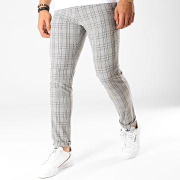 Armita - Pantalon Carreaux PA-7105 Gris Noir