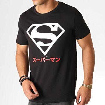 DC Comics - Tee Shirt Superman Japan Noir