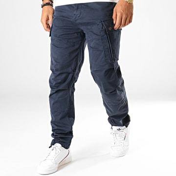 Pantalon Cargo Roxic D14515-4893 Bleu Marine
