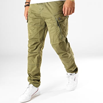 Pantalon Cargo Roxic D14515-4893 Vert Kaki