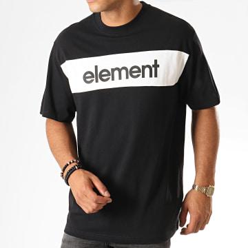 Element - Tee Shirt Primo Flag Noir Blanc