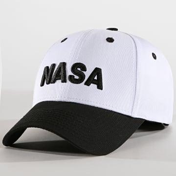 Casquette NASA Blanc Noir