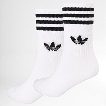 Adidas Originals - Lot De 3 Paires De Chaussettes DX9091 Blanc