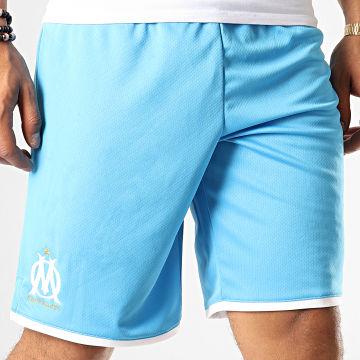 Short Jogging OM Replica 755679 Bleu Clair Blanc