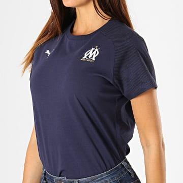 Tee Shirt Femme OM Casuals 755849 Bleu Marine