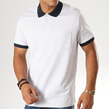 Selected - Polo Manches Courtes Mute Blanc