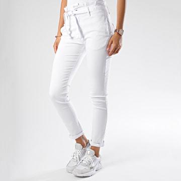 Jean Slim Femme 070 Blanc