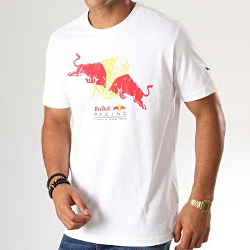 Tee Shirt Red Bull Racing Double Bull 595464 Blanc