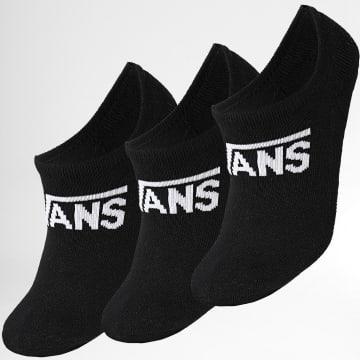 Vans - Lot De 3 Paires De Chaussettes XSXBLK1 Noir