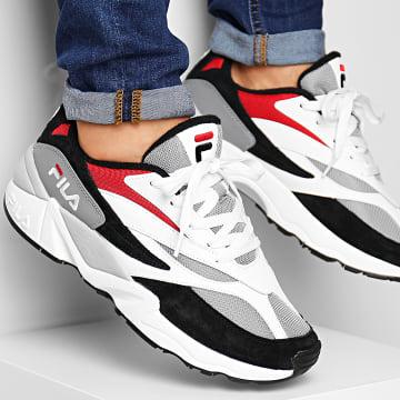 Baskets V94M Low 1010718 008 Black White Fila Red