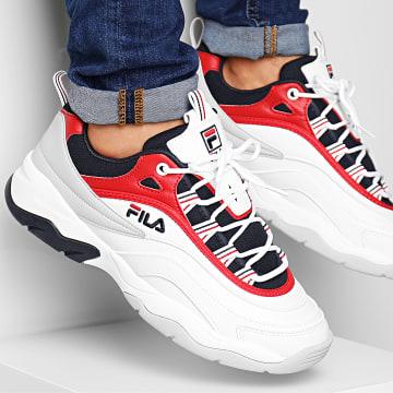 Baskets Ray CB Low 1010723 150 White Fila Navy Fila Red