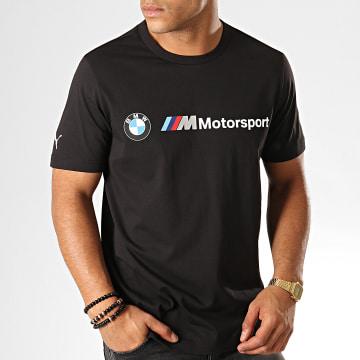 Tee Shirt BMW Motorsport Logo 595369 Noir