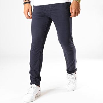 Pantalon Chino Slim 1008253 Bleu Marine