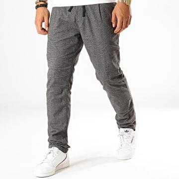 Pantalon Carreaux 1012738 Gris Anthracite