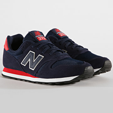 New Balance - Baskets Classics 373 738241-60 Navy Red