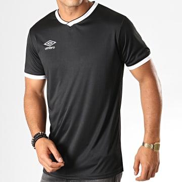 Tee Shirt De Sport Cup Jersey 570280-60 Noir Blanc