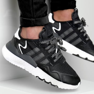 Adidas Originals - Baskets Nite Jogger EE6254 Core Black Carbon