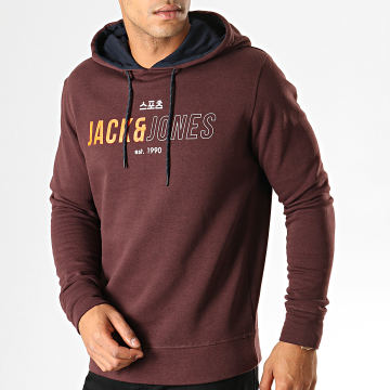 Jack And Jones - Sweat Capuche Mondo Marron