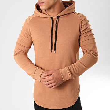 LBO - Sweat Capuche Oversize 835 Camel