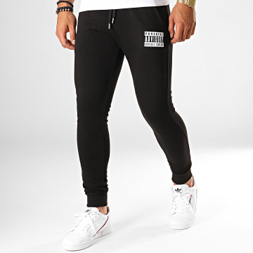 Parental Advisory - Pantalon Jogging Logo Noir