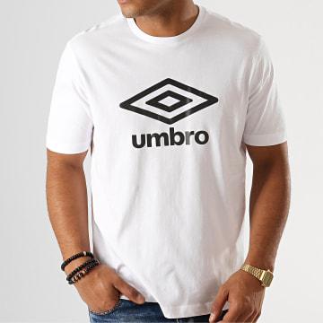 Umbro - Tee Shirt 729280-60 Blanc Noir
