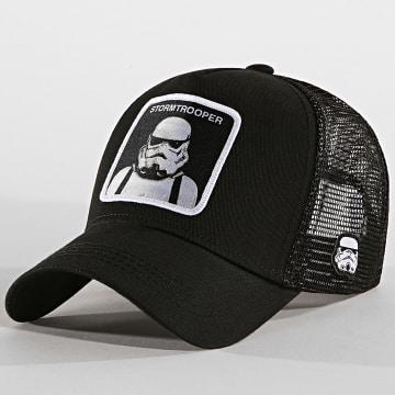 Capslab - Casquette Trucker Stormtrooper Noir
