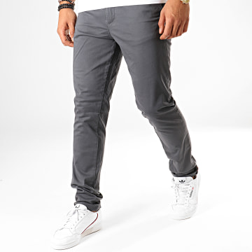 Pantalon Chino Marco Bowie Gris Anthracite
