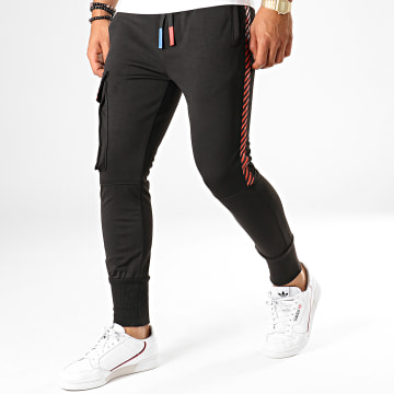 King Off - Pantalon Jogging 2822 Noir