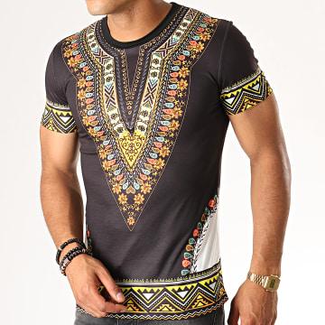 John H - Tee Shirt A082 Noir