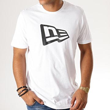 New Era - Tee Shirt Essential Flag 12033429 Blanc