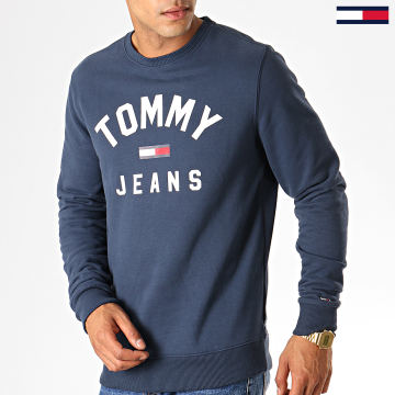 Sweat Crewneck Essential Flag 7024 Bleu Marine