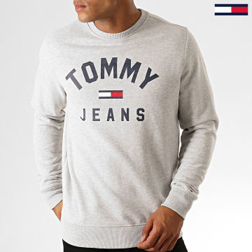 Sweat Crewneck Essential Flag 7024 Gris Chiné