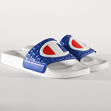 Champion - Claquettes M-Evo S20979 White Royal Blue