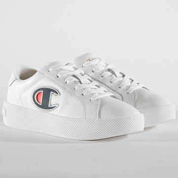 Champion - Baskets Femme Era Leather S10739 White