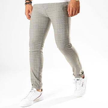 Classic Series - Pantalon Chino M-3185 Vert Kaki Blanc