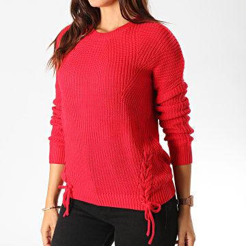 Pull Femme Trendy Rouge