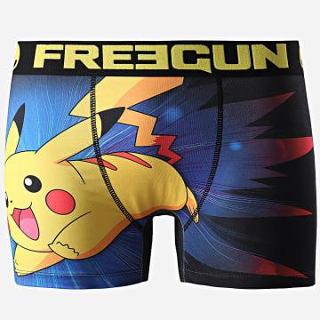 Freegun - Boxer Pokémon KKS Noir