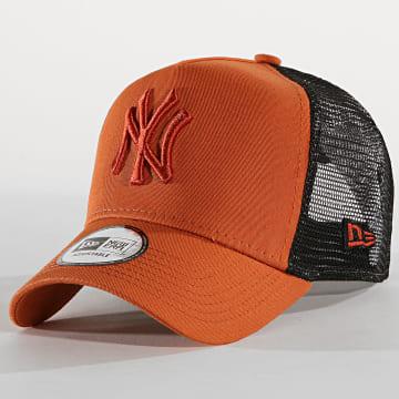 Casquette Trucker League Essential New York Yankees 12040412 Orange Noir