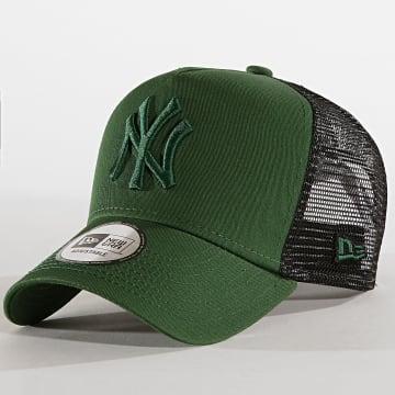 Casquette Trucker League Essential A-Frame 12040413 New York Yankees Vert Anglais