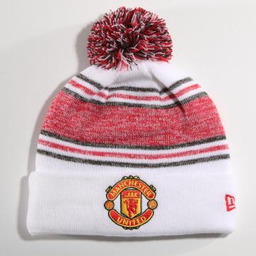 Bonnet Manchester United FA19 Bobble 12040482 Blanc Rouge