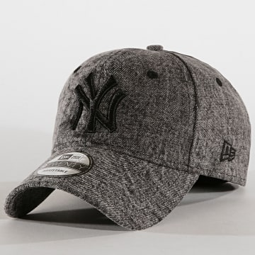 Casquette 9Twenty Dipped Denim 12040552 New York Yankees Gris Anthracite Chiné