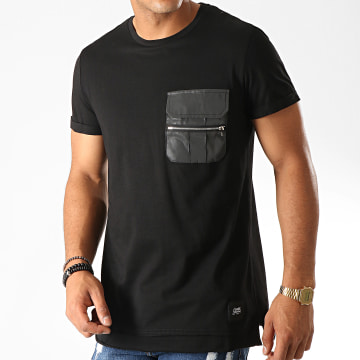 Sixth June - Tee Shirt Poche 3885CTS Noir