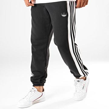 Adidas Originals - Pantalon Jogging A Bandes 3 Stripes ED6255 Noir