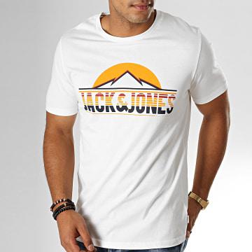 Jack And Jones - Tee Shirt Dorsey Blanc