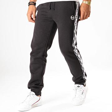 Pantalon Jogging A Bandes Dekle Noir