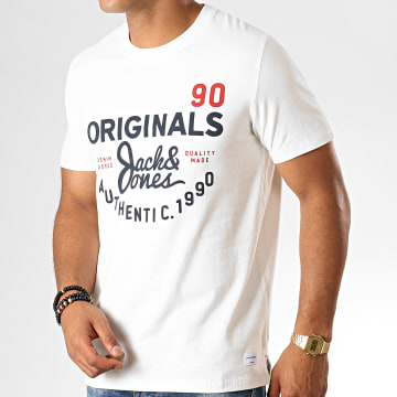 Jack And Jones - Tee Shirt Upton Ecru