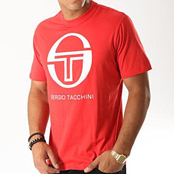 Sergio Tacchini - Tee Shirt Iberis 37740 Rouge Blanc