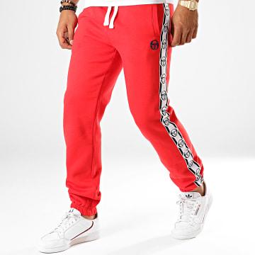 Pantalon Jogging A Bandes Dekle Rouge